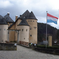 Chateau de Bourglinster. Chateau de Bourglinster, Luxembourg, TRIPPING THE LIGHT FANTASTIC (solo)