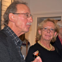 Mme St Geisen et M Paul Keeling Luxembourg (Photos Tony Stamp)