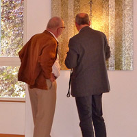 Blanche and Jos Eilenbecker-Meyers and Henri Wies. Galerie d'Art Municipale. Diekirch, Luxembourg