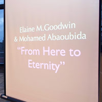 The Exhibition and title work. The Street Gallery, Institute of Arab & Islamic Studies, University of Exeter.