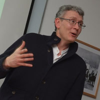 Professor Rob Gleave. The Street Gallery, Institute of Arab & Islamic Studies, University of Exeter.