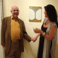 Nigel Toft and EMG. Lawrence-Arnott Gallery, Marrakech, Private View