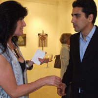 EMG and Larbi Safaa (Marrakech). Lawrence-Arnott Gallery, Marrakech, Private View
