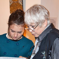 Martha Maneer with Sarah Clevely