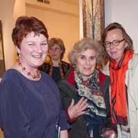 Jane Clark, Rosine Thirion with Benita Edzaed