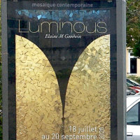 Exhibition Luminous Paray-Le-Monial with 'The Sky's the Limit!' 2020